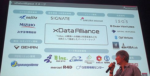 「xData Alliance」に参画する21の事業者と研究機関、団体