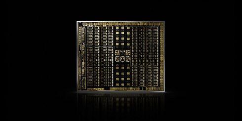 「Turing」ベースGPUのダイ