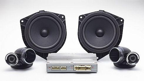 「ハイレゾ対応サウンドパッケージ(プレミアムダブルツィーターシステム)」の構成