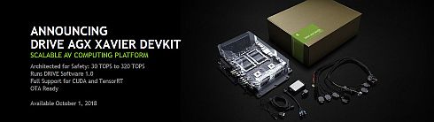 「DRIVE AGX Xavier developer kit」の概要