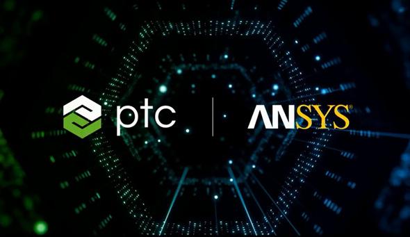 図3 ANSYSとPTCが協業を発表。「Creo Parametric」上で「Discovery Live」を動作せるよう共同開発を進めている
