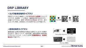 現在用意されているDRPライブラリ
