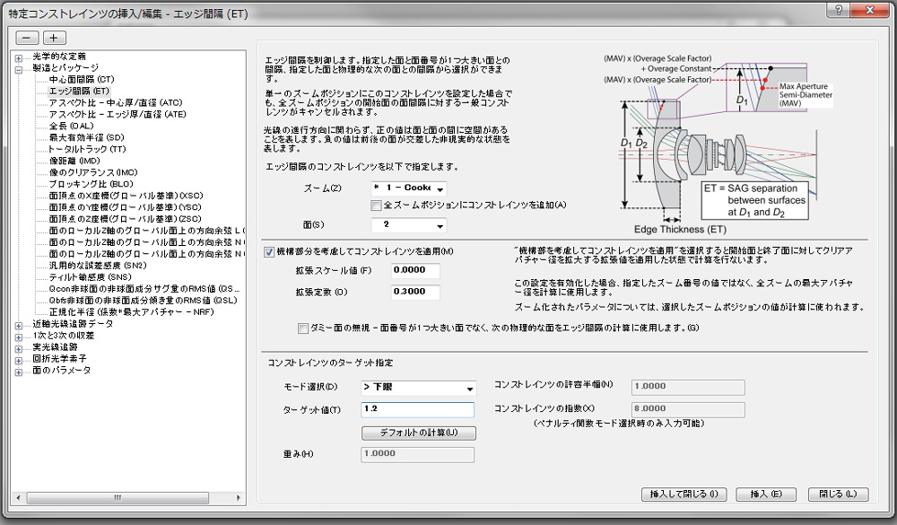 93313ed278 光学設計解析ソフトウェアの「CODE V 11.2」、設計時の光学系仕様を簡単に評価 - MONOist(モノイスト)