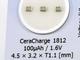 基板に実装できる全固体電池、IoTデバイスの電源として期待大