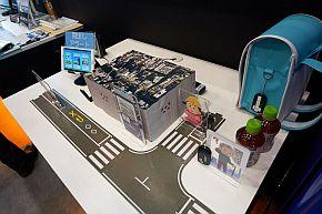 ビーコンと対応自動販売機をセットで運用する