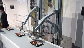 「食品工場生産ライン自動化」の展示