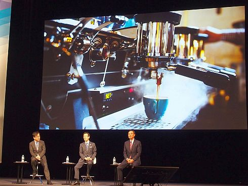 新浪氏が日本企業復活のポテンシャルとして挙げたコーヒーマシンの写真