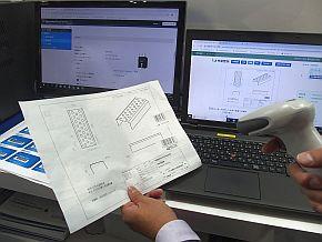 情報機器事業部が開発中のバーコードベースの納期管理システム