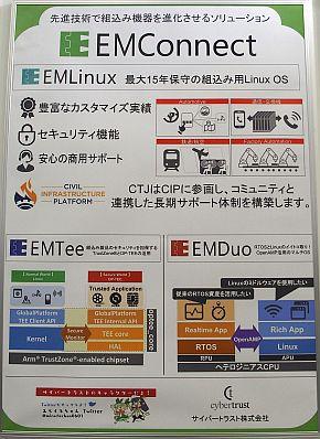 「EMConnect」の説明パネル