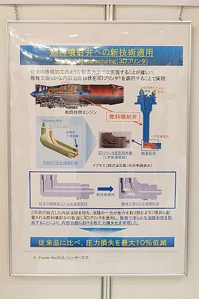 戦闘機用エンジンの主燃焼器用燃料噴射弁のポスター