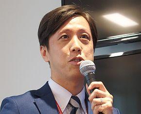 アイリスチトセの大山紘平氏