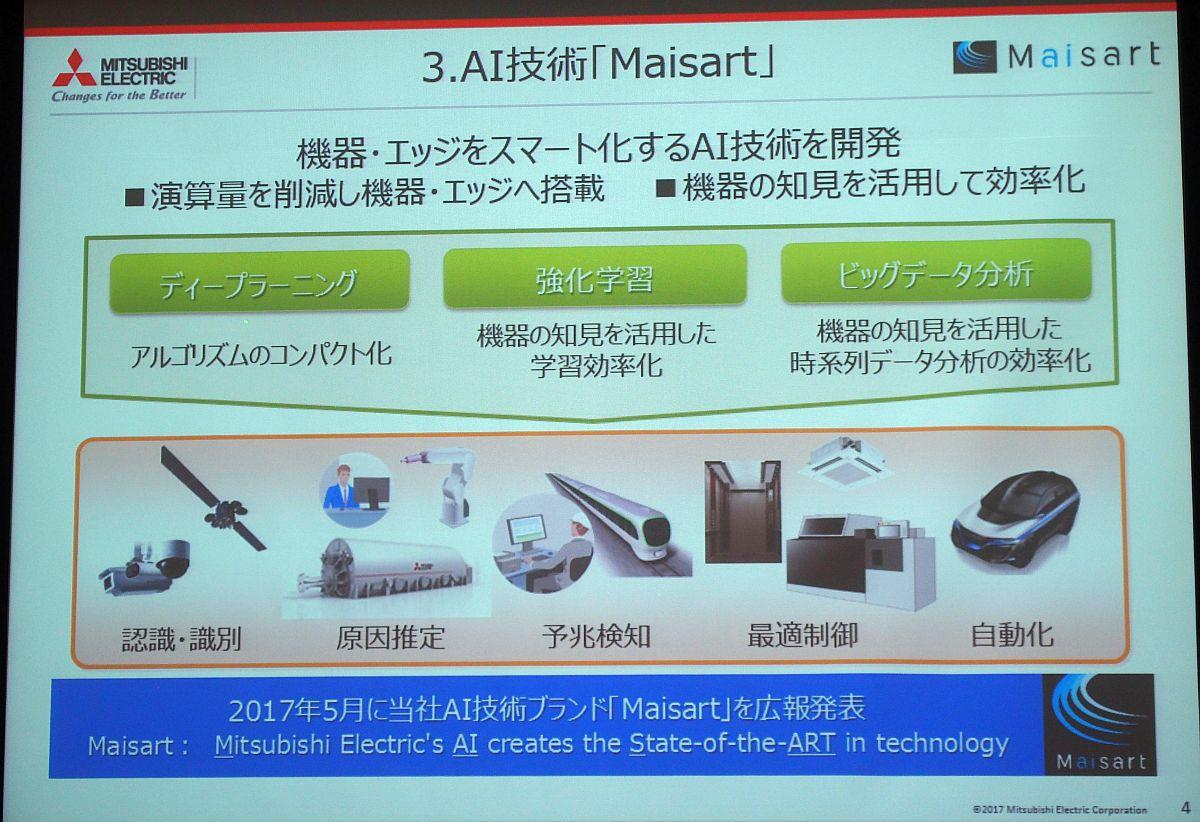三菱電機のAI技術「Maisart」は「大手クラウドベンダーとは一味違う」