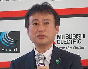 三菱電機の三嶋英俊氏