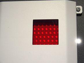 8cm四方に256素子を並べたアンテナ