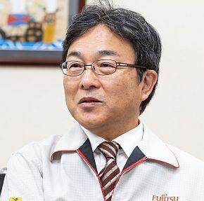 富士通テレコムネットワークス 執行役員 生産技術・製造部門担当の寺内秀明氏
