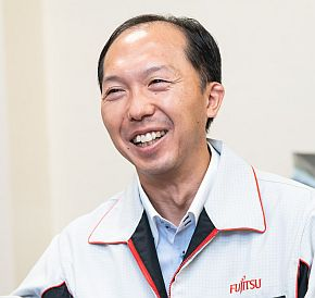 富士通テレコムネットワークス 生産技術統括部 共通基盤技術部 部長の市原康弘氏