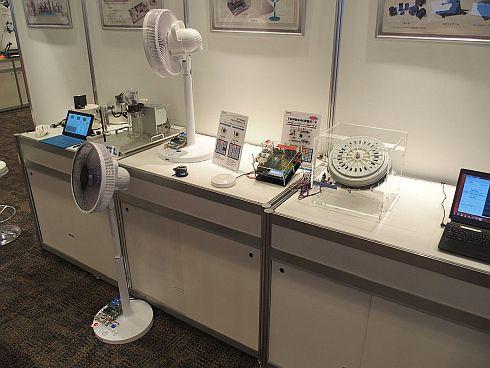 東芝マイクロエレクトロニクスのIoT-Engine関連の展示