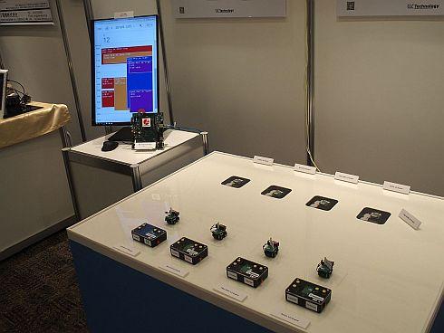 ユーシーテクノロジのIoT-Engineの展示