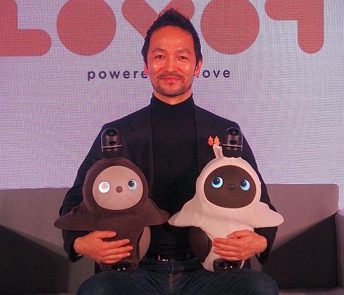 GROOVE Xの林要氏と「LOVOT」
