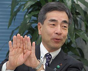 三菱電機の中川路哲男氏
