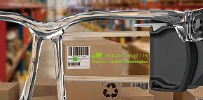 ホログラム導光板ディスプレイの表示イメージ