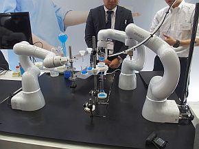 化学実験の分析作業を自動化するシステム
