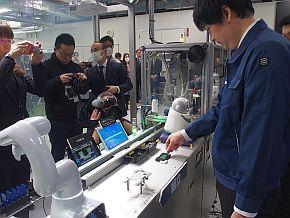 NEC DX Factoryコンセプトラインの「組立」