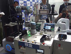 NEC DX Factoryコンセプトラインの「検査」