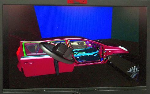 「DIPRO VR」の画面例