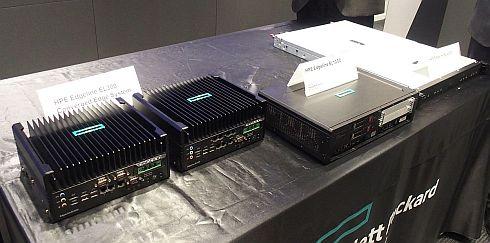日本HPEが会見で披露した「HPE Edgeline Converged IoT Systems」