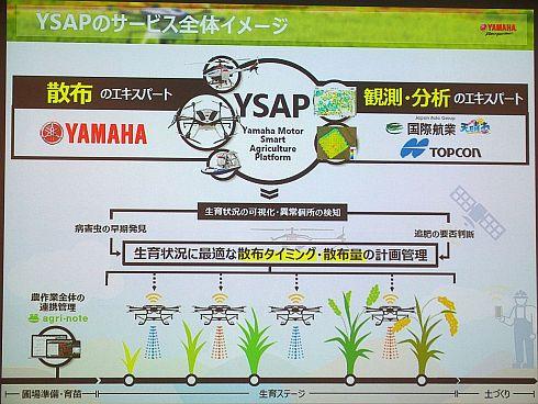 「YSAP」のサービス全体のイメージ
