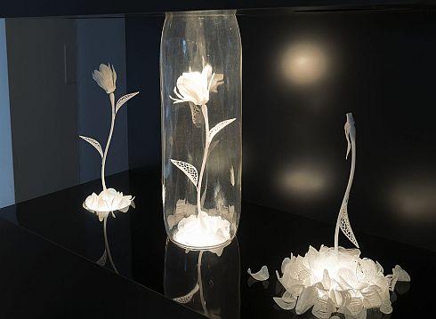 「4D Flower」の展示
