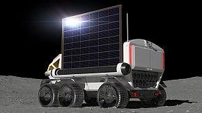 太陽光発電パネルも展開可能