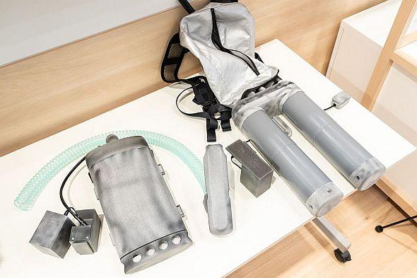 金星による熱中症対策用冷風装置(最終製品)の事例