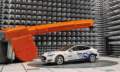 AGCがベルギーのゴスリーに建設した電波暗室