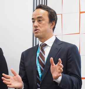 ジェムアルト モバイルサービス&IoT事業本部 本部長の蔦田剛士氏