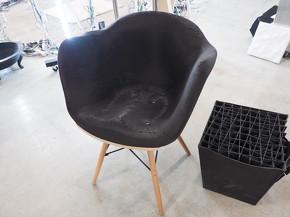 椅子を丸ごと出力することも可能