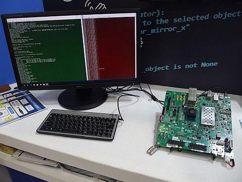 組み込みLinuxとRTOSの共存デモ