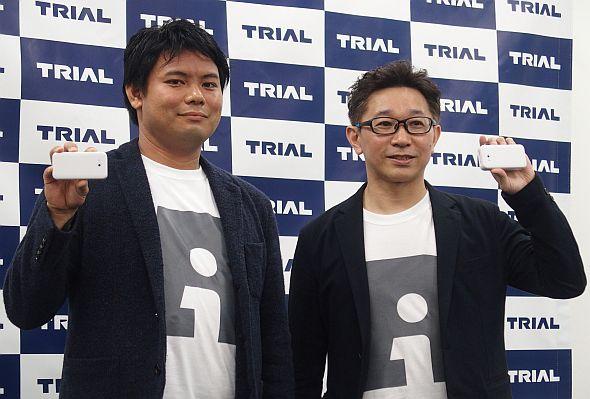 Retail AIの永田洋幸氏(左)と松下伸行氏(右)