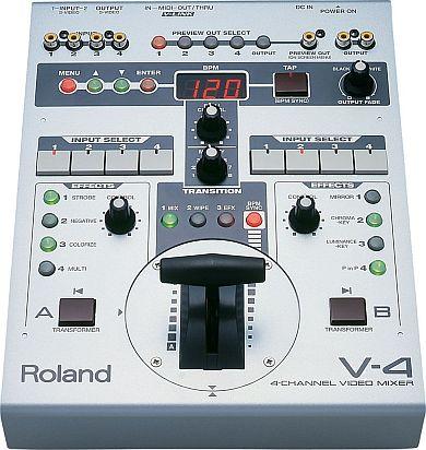 ローランドの映像機器で最初のヒットとなった「V-4」