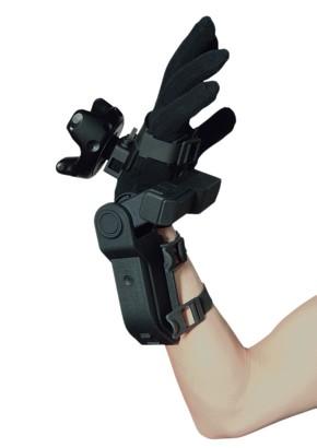 指先の位置追跡と手のひらへの力触覚フィードバックを組み合わせた新たな触覚提示ソリューション「EXOS Wrist Hand Tracking Edition」