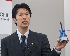 日立製作所の竹島昌弘氏