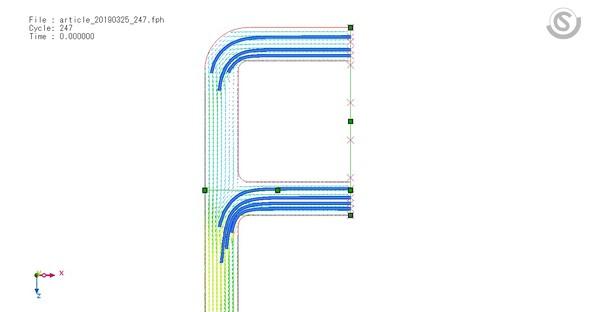図2 流線の表示例