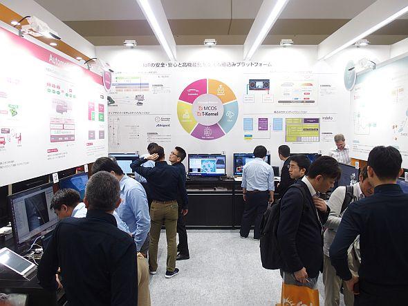 イーソルの「第8回 IoT/M2M展 春」の展示。