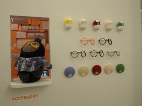 眼鏡、ツノカバー、しっぽカバー