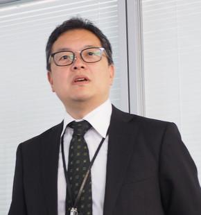 3DVS Japan セールス&マーケティング部 部長の豊岡英一氏