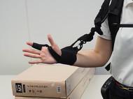 「腕補助用追加ユニット」のプロトタイプ(2)