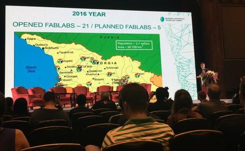 深センで開催された「FAB12」の様子(2016年開催)