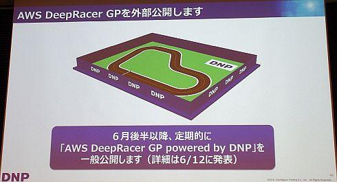 「AWS DeepRacer」の実コースも作成する予定
