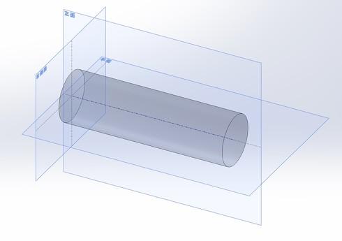 図9 軸直線、中心面による3平面データム系により形体の姿勢を決める